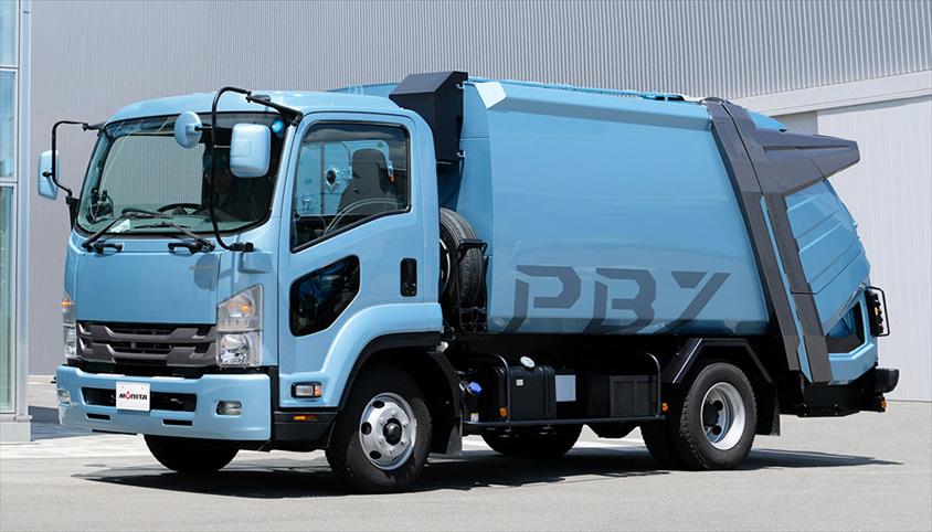 収集 仕組み ゴミ 車 塵芥車(ゴミ収集車・パッカー車)の種類と仕組み