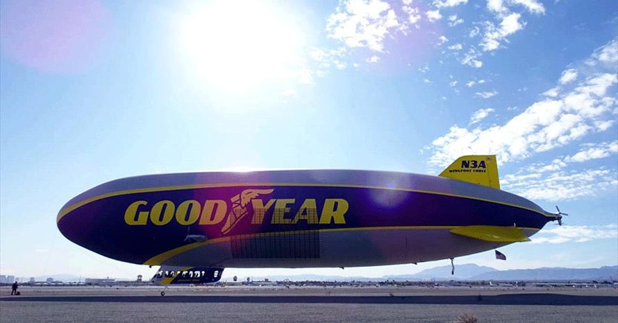 グッドイヤーの「飛行船」試乗レポート!タイヤメーカーが飛行船を保有 ...