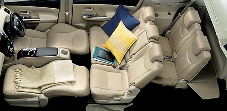 プリウス シートアレンジ トヨタ自動車のクルマ情報サイト‐gazoo