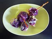 ぶどうの天ぷら