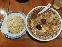 相模原市南区 揚州商人で酸辣湯麺