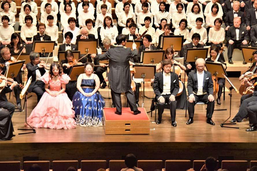飯山市民による「飯山市民第九コンサート」?11月26日?文化交流館「なちゅら」で開催されました。