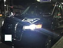 ジャパンタクシーに初めて乗りました!