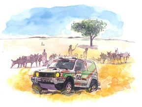パリ=ダカールラリー――砂漠の覇者Mitsubishi(1997年)