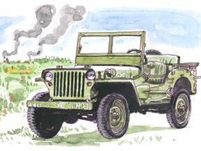 軍用車から乗用車へ(1941年)