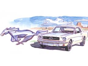 「ポニーカー」跳ねる(1964年)