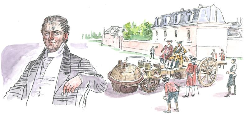 蒸気と電気――ガソリン自動車前史(1769年)   トヨタ自動車のクルマ ...