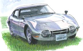世界を驚嘆させたトヨタ2000GT(1965年)