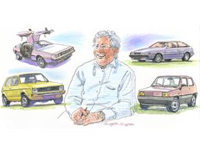 【自動車人物伝】ジョルジェット・ジウジアーロ(1972年)