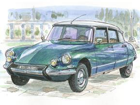 自動車の歴史 <カーオブザセンチェリー>シトロエンDS(1955年)
