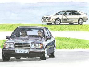 ドイツ車の覇権 メルセデス・ベンツ、BMW、アウディ(1985年)