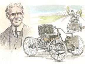 <自動車人物伝>ヘンリー・フォード(1896年)
