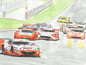 SUPER GTってどんなレース?――熱狂の市販車バトル