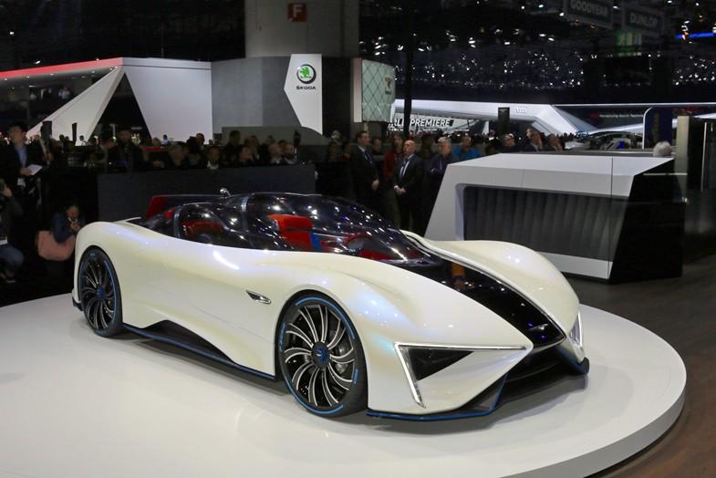 彼と子息ファブリツィオによる新会社「GFGスタイル」がデザインしたGT96。中国のR&D企業テックルールズにより少量生産が予定されている。