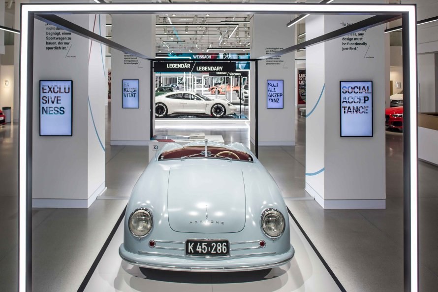 Porsche Prototype with Chassis Number 356-001
