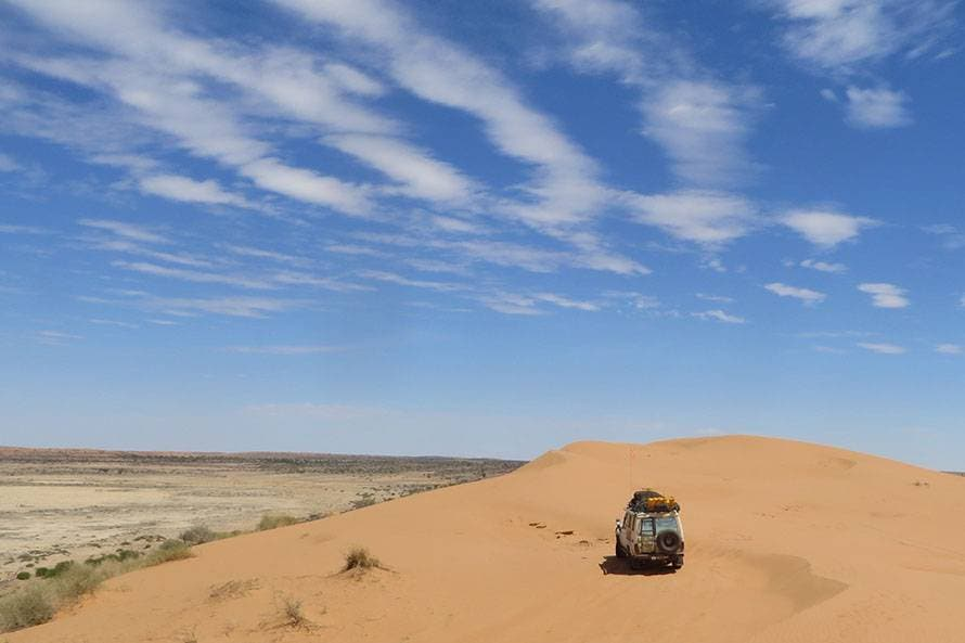 ビッグレッド・シンプソン砂漠