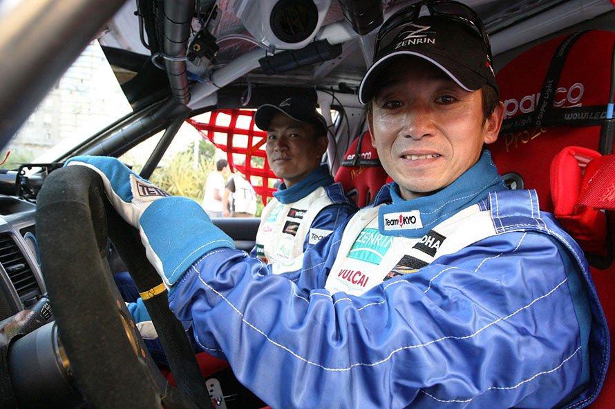 2009年、舞台を南米大陸へ移したダカールラリー。片山右京選手のナビゲーターとして参戦