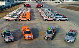 """ダカールラリーの""""はたらくクルマ"""" ハイラックスは競技車だけでなくオフィシャルカーでも大活躍!"""