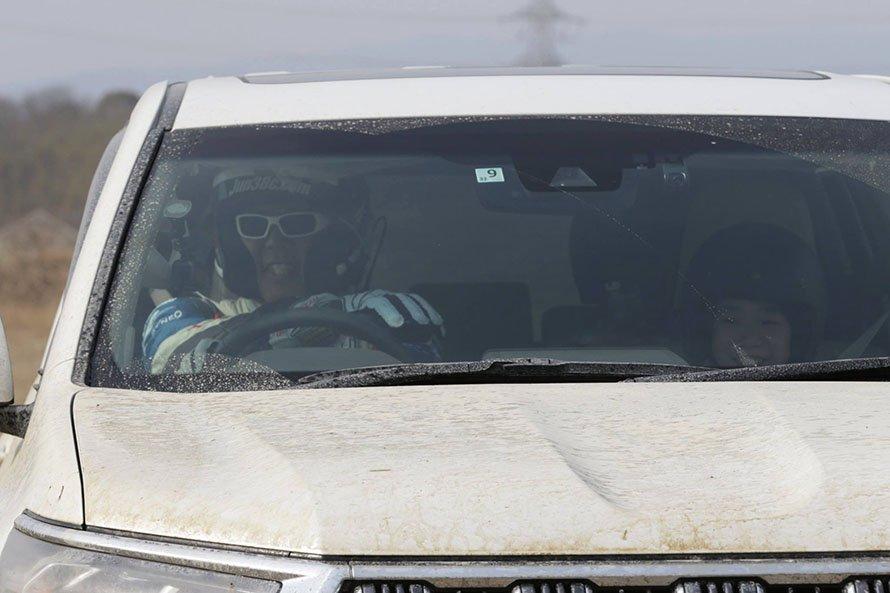 ドライバーもお客様も笑顔