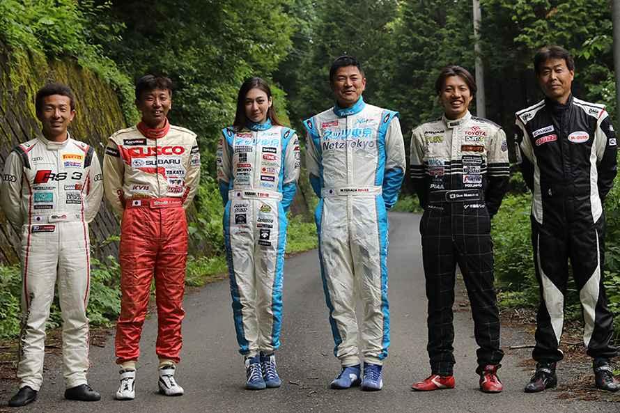 左から蘇武選手、炭山選手、塚本選手、私、川名選手、石田選手