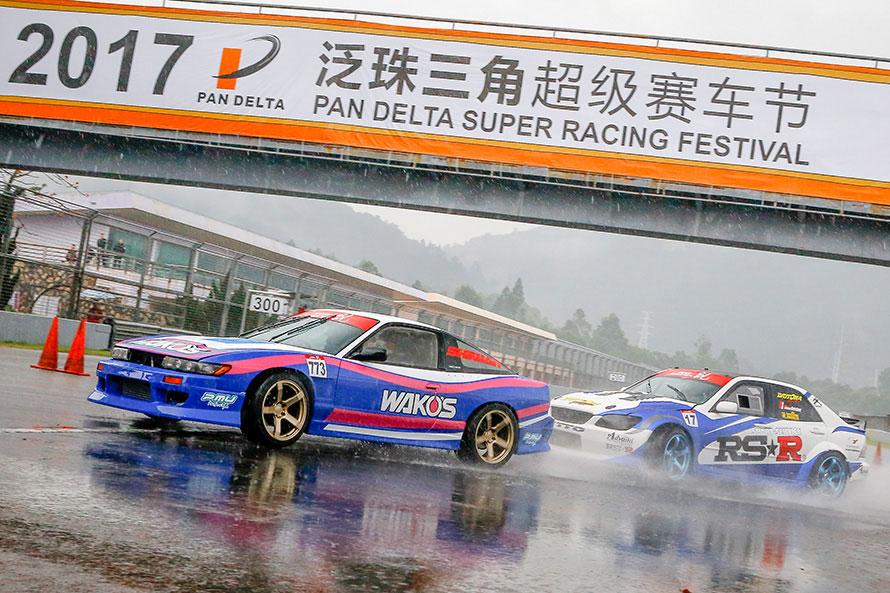 2017年に中国で開催されたドリフトイベントに参戦