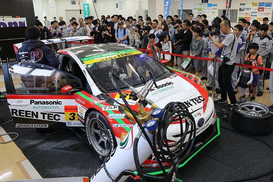 今シーズンでSUPER GT GT300クラスを退くTOYOTA PRIUS apr GT