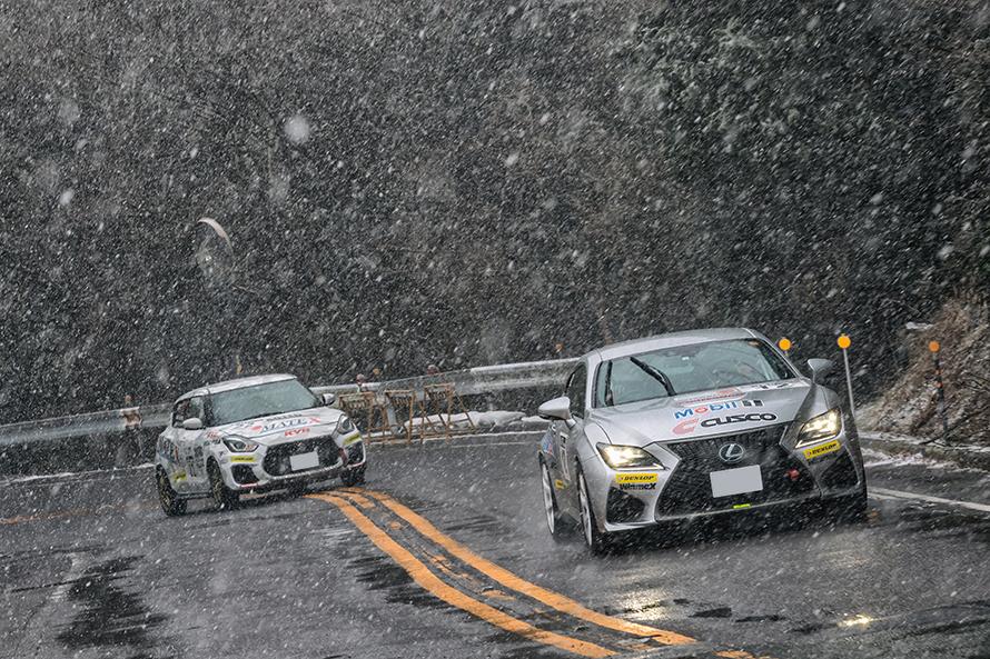 突然の雪で鬼久保のSSはキャンセル