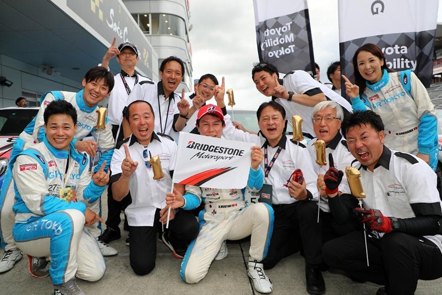 TMT片山社長も毎回応援に駆けつけ、優勝をともに祝う