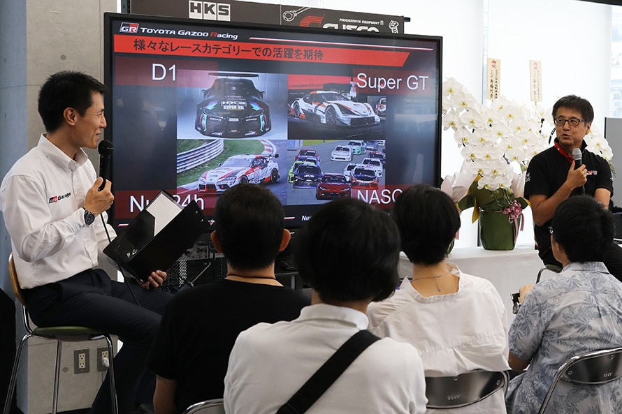 レースを前提に作られた『GR スープラ』。D1、NASCAR、ニュル24時間そして来年から導入されるSuper GTとレースを席捲していく