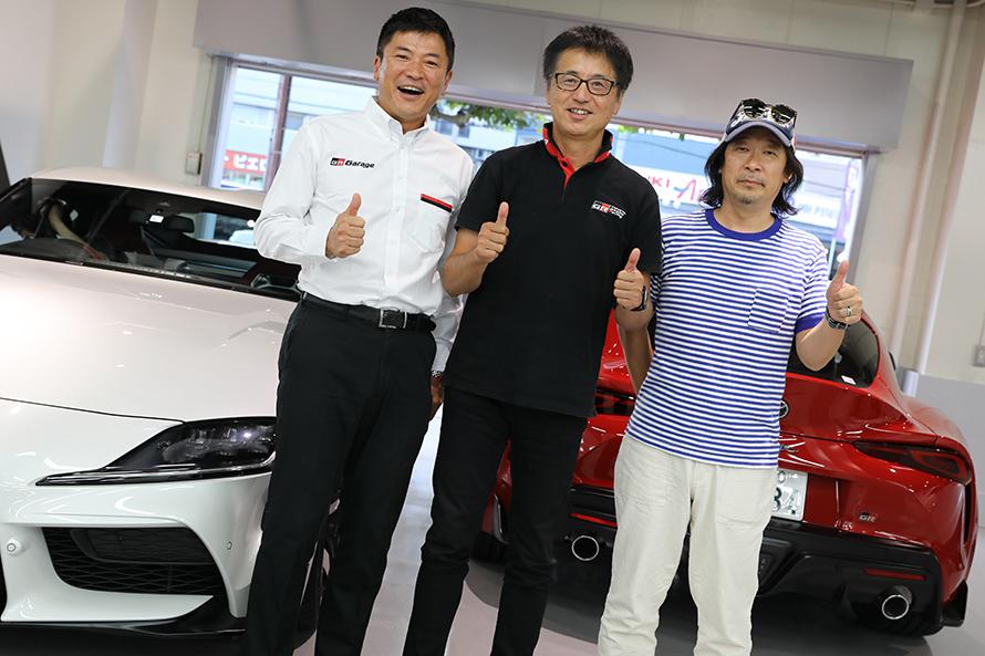 チーフエンジニアの多田さん、チーフデザイナーの中村さん、ありがとうございました!