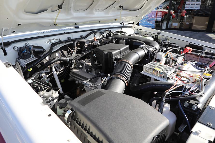 4リットルV6(1GR-FE)エンジン搭載