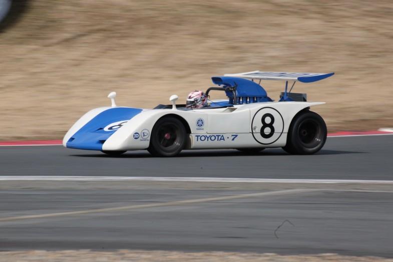 1969年シーズンを走ったトヨタ・7。当時の日本グランプリは3位でフィニッシュ