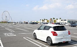 iPhone iOS10の「駐車位置記録」機能を使ってみた