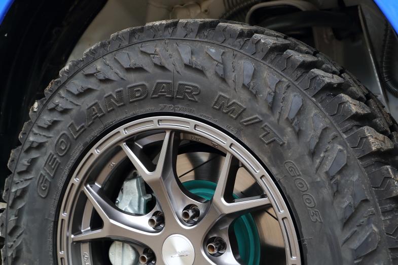 TEAM JAOS、FORTUNER GEOLANDER takuma-gpは最新オフロードタイヤを投入