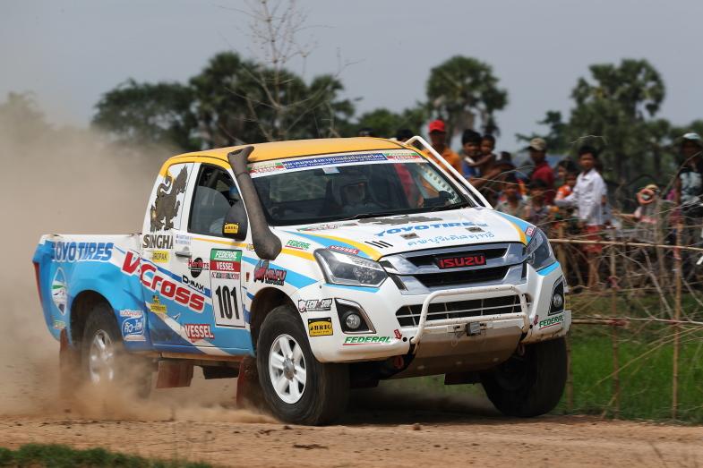 ピックアップトラック最強マシン いすゞ・D-MAX