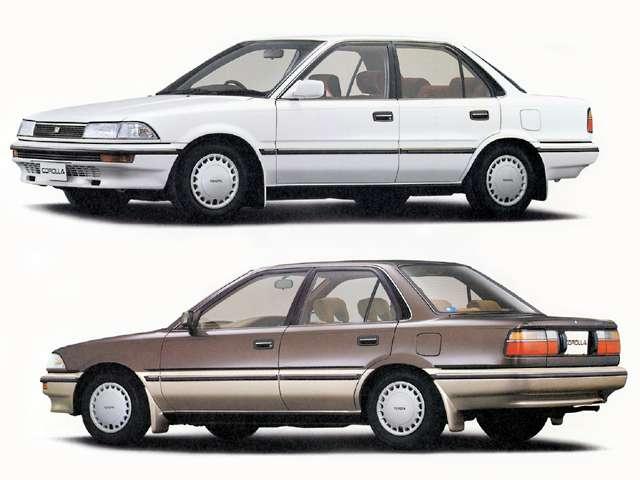 「ハイクオリティ」を謳って1987年に発売された6代目カローラ