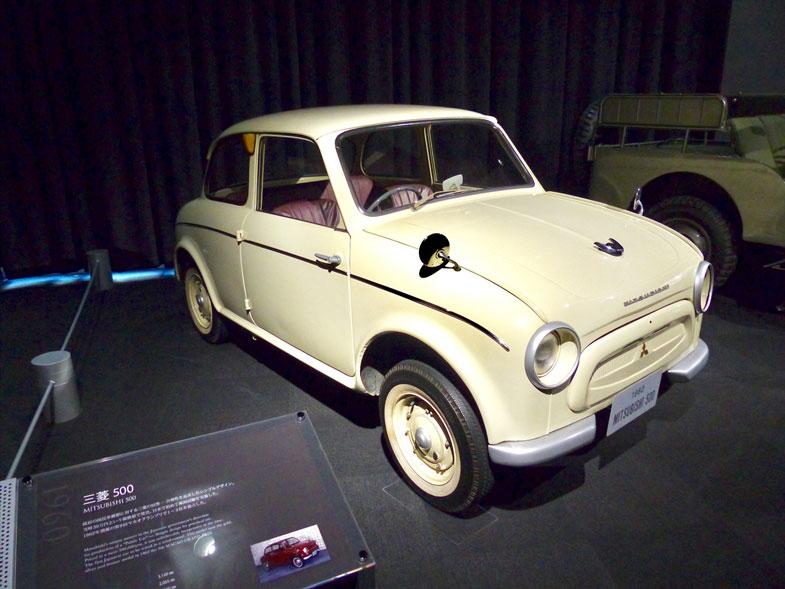 1960年に発売された三菱・500