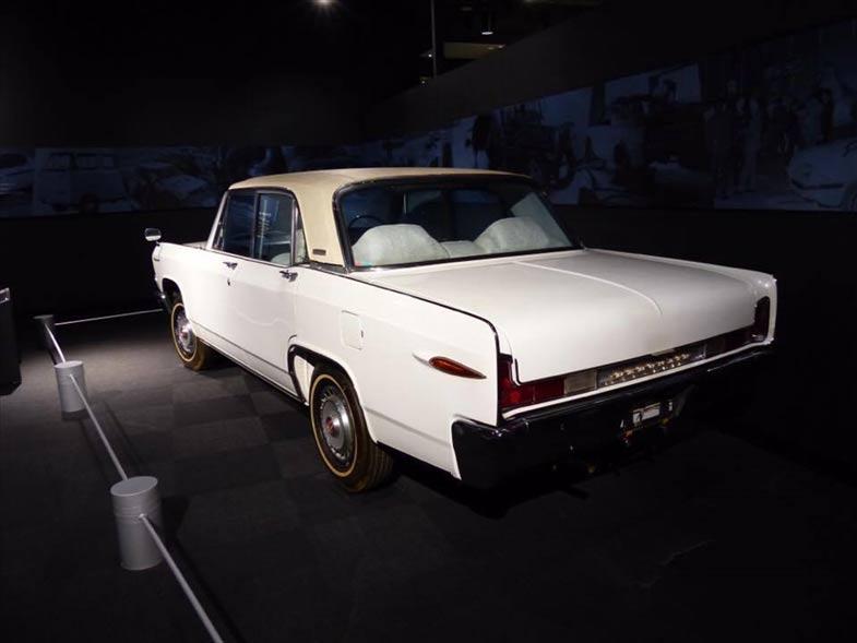 決して大きいボディではないが、アメリカ車を彷彿とさせるデザインがサイズ以上の存在感を示す