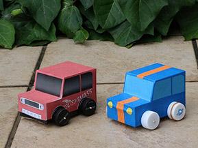 クルマ好きの自由研究にオススメ! プルバックカーを作ってみよう