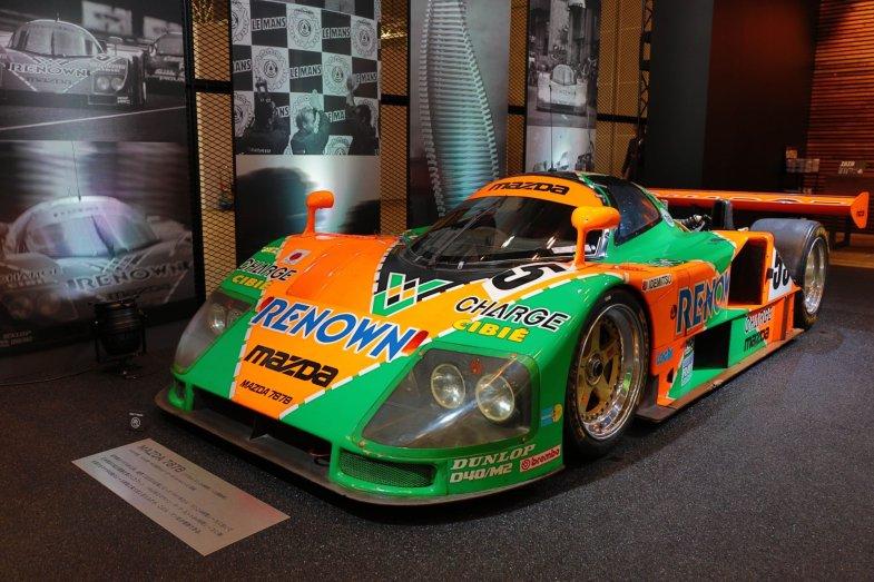 マツダ787Bは日本メーカーとして初めてル・マン24時間レースを制したまさにヘリテージカーと言える1台だ