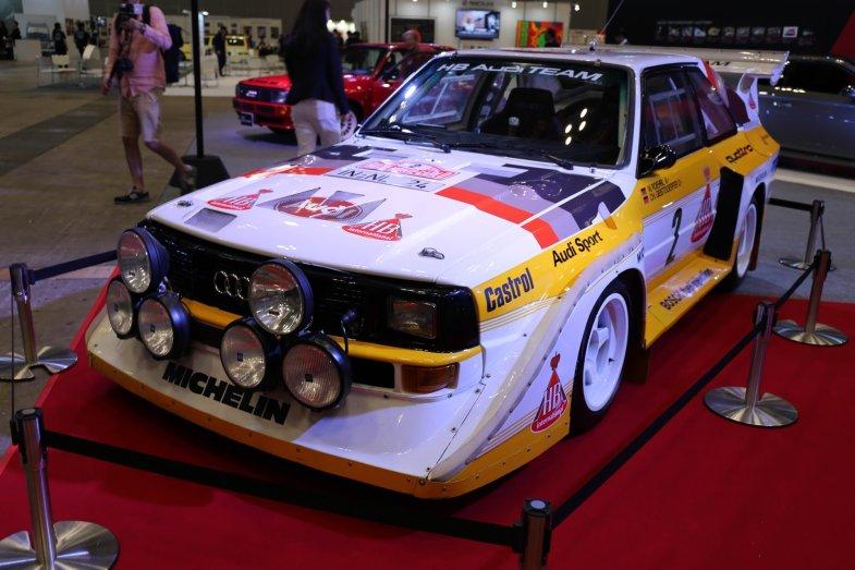 はるばるドイツからやってきたモンスターラリーカー「Audi Sport Quattro S1 Gr.B」