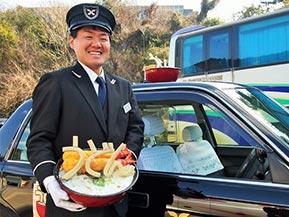 本気度がすごい!香川に行ったら「うどんタクシー」に乗ろう