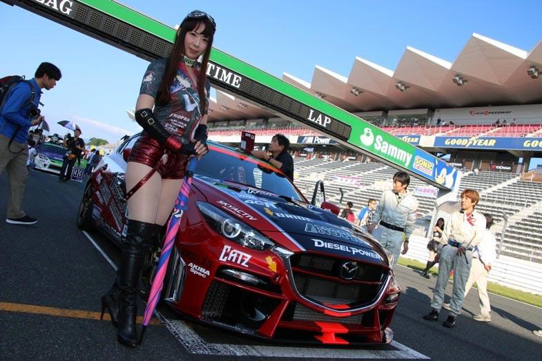 TEAM NOPROの勝利の女神、桜井さちさん。彼女も長くチームを支える不可欠なメンバーだ