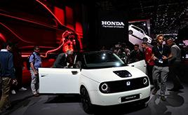 キュートなホンダの電気自動車も! ジュネーブモーターショーで注目の国産車5台