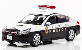 警察車両をモデル化するミニカーメーカー「ヒコセブン」のこだわり