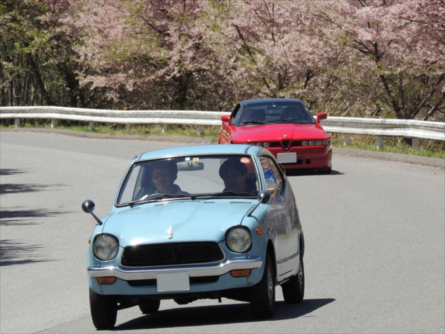 鹿沼を舞台に旧車が走るラリー形式のイベント「マロニエ・オートストーリー春2019」