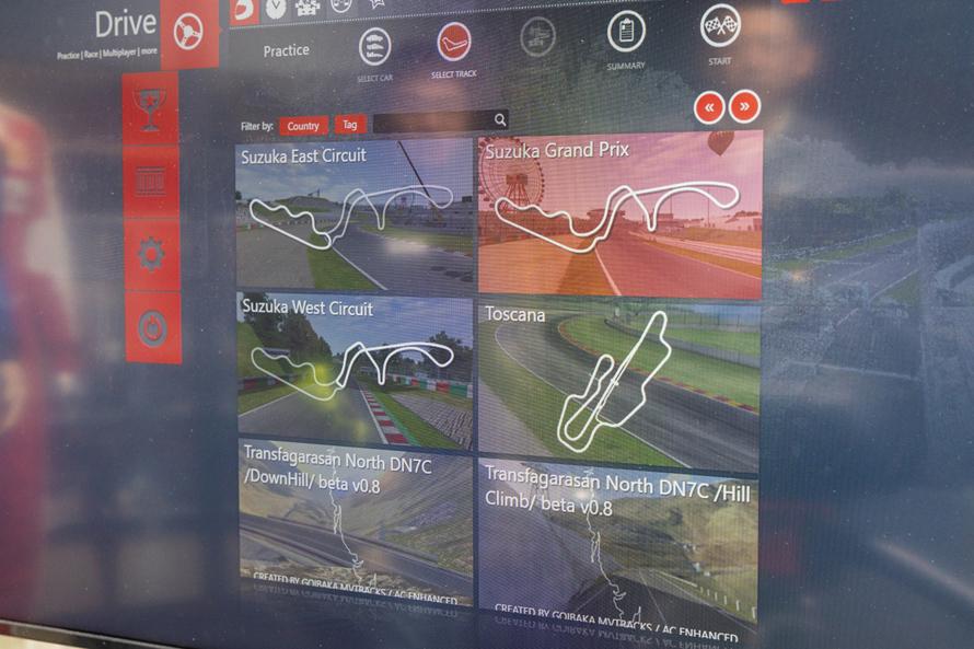 鈴鹿サーキットだけでも、フルコース、西コース、東コースが選べる