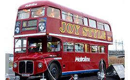 ロンドンバスやシトロエンHトラックでおいしいフードをお届け! 移動販売「JOY STYLE」【キッチンカー探訪】