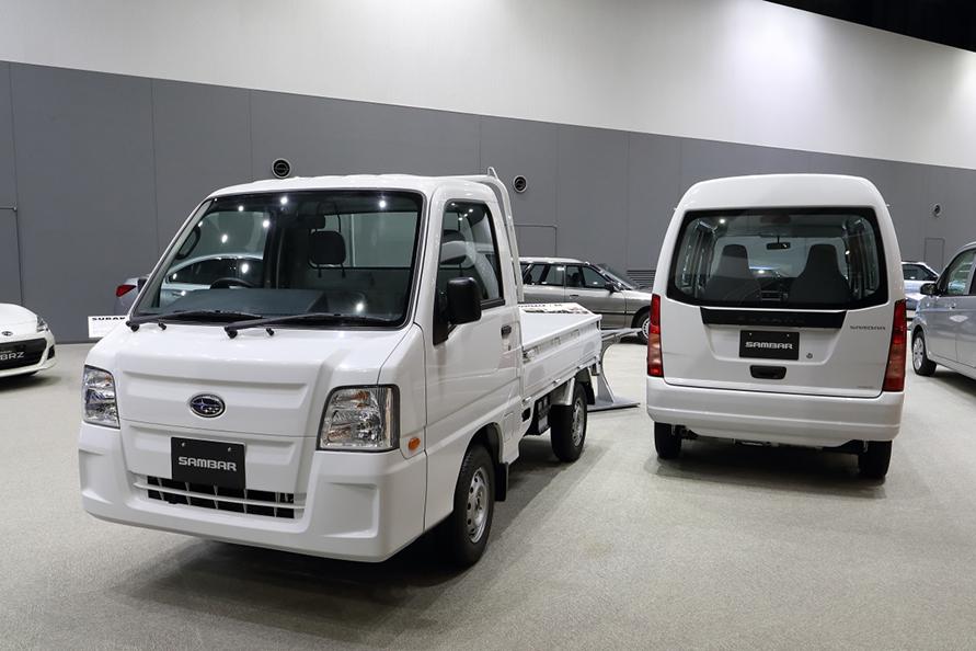 富士重工製としては最後のサンバートラック&バン