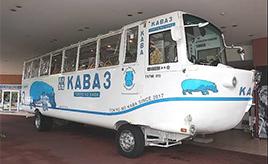 運転も操舵も難易度「高」。お台場で乗れる水陸両用バス「TOKYO NO KABA」の知られざる特徴